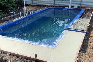 Complete Fibreglass Pool Kits - DIY pool installation