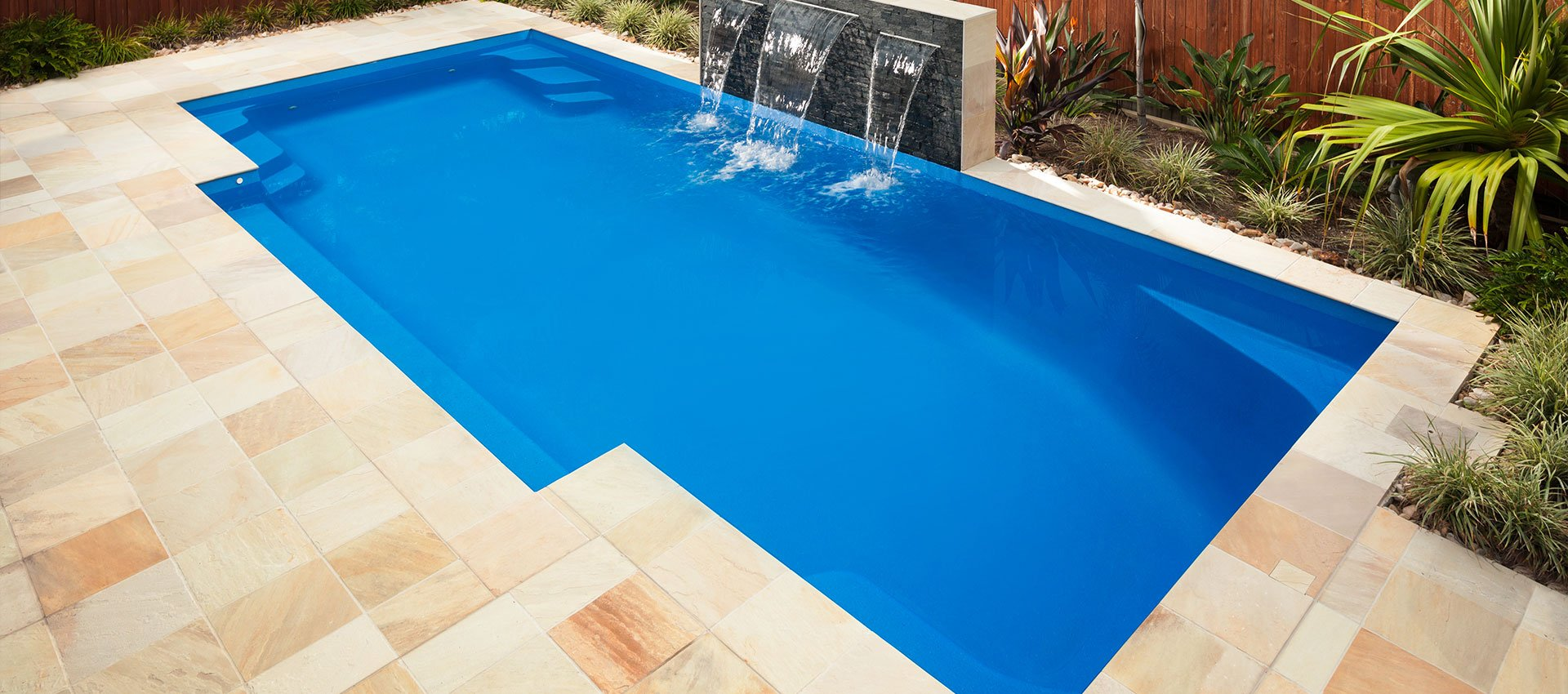 Complete Fibreglass Pool Kits - Hayman Pool Large