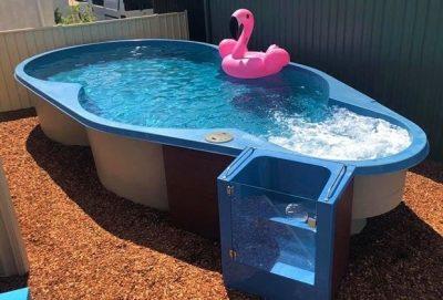Fibreglass Above Ground Pool