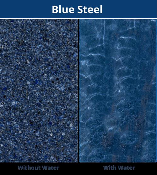 DIY Pools WA - Blue Steel Marbletech Finish