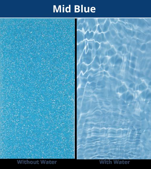 DIY Pools Qld - Mid Blue Shimmer Finish