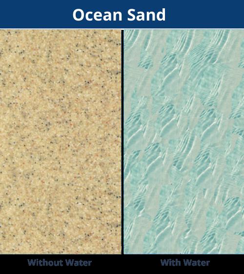 DIY Pools Victoria - Ocean Sand Shimmer Finish